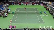 Maria Sharapova vs Petra Kvitova Highlights ᴴᴰ Fed Cup 2015 FINAL