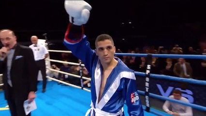 Khedafi Djelkhir, Champion du monde APB (56 kg)
