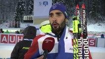 Biathlon - CM (H) - Ruhpolding : Fourcade «Une super expérience»