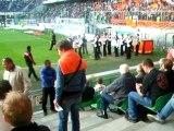 musique celtique stade de rennes avant match rennes lorient