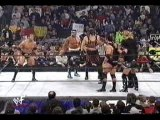 The Rock Kane and Hulk Hogan vs NWO