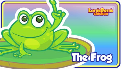 THE FROG DOESN'T WASH HIS FEET - Gallina Pintadita's ENGLISH KIDS SONG
