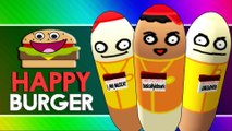 HAPPY BURGER! (Citizen Burger Disorder / Burger Simulator Funny Moments)