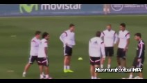 Cristiano Ronaldo and James Rodriguez Funny Moments - Cristiano Ronaldo fake vs James 2014