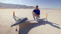 Este dron impreso en 3D alcanza una velocidad de 240 km/h