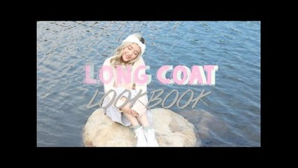LONG COAT LOOKBOOK 秋冬外套穿搭