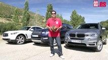 conclusion - COMPARATIVA - RANGE ROVER SPORT - INFINITI QX70S - BMW X5