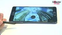Samsung Galaxy Note 4 diseño
