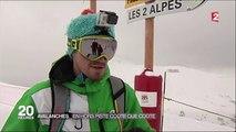 D!CI TV - Aux Deux Alpes, les skieurs ne sont pas plus attentifs aux panneaux