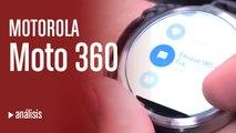 Videoanálisis del Moto 360, el smartwatch de Motorola