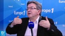 """Mélenchon : """"Hollande n'a pas dû se rendre compte qu'il crée deux catégories de Français"""""""