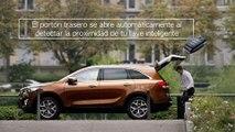 Nuevo Kia Sorento, tecnologías- Portón automático inteligente.