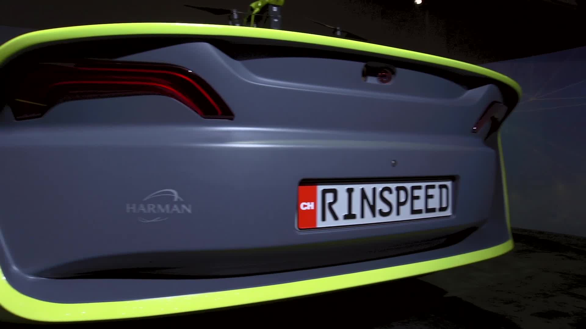 Rinspeed Auto Shows Off Car With Built-In Drone At CES 2016