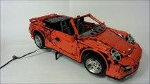 Video: LEGO Porsche 911 (997) Turbo Cabriolet PDK