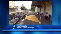 Hautes-Alpes : Mobilisation contre la fermeture du guichet SNCF à Laragne