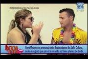 Rayo Vizcarra se pronuncia ante declaraciones de Sofía Caiche, quién aseguró que por el momento no tiene planes de boda