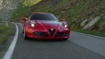 Alfa Romeo 4C conducción en carretera