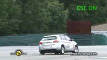 Euro NCAP crash test Peugeot 308
