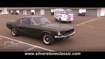 Silverstone Classic 'Bullitt' homage
