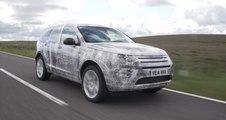 DISCOVERY SPORT CAMOUFLAGE TESTING B-ROLL
