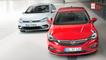 Opel Astra contra Volkswagen Golf