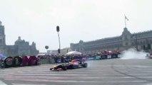 Carlos Sainz y Daniel Ricciardo en México