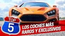 Los cinco coches más raros y exclusivos