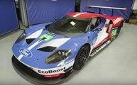 Ken Block y Vaughn Gittin Jr. echan un vistazo al Ford GT de carreras