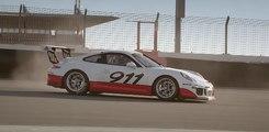 Mark Webber se sale del circuito con un Porsche 911 GT3 Cup