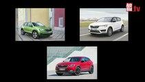 Tres nuevos SUV de Skoda para el futuro