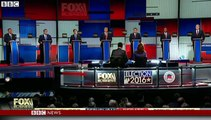 Donald Trump clashes with Ted Cruz at Republican debate