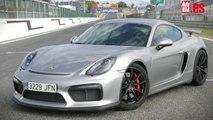 Prueba del Porsche Cayman GT4 en el circuito del Jarama