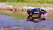 Slash 4X4 : Voiture RC qui roule sur leau