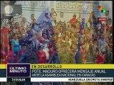 Venezuela: rinde Guardia Bolivariana honores a Hugo Chávez