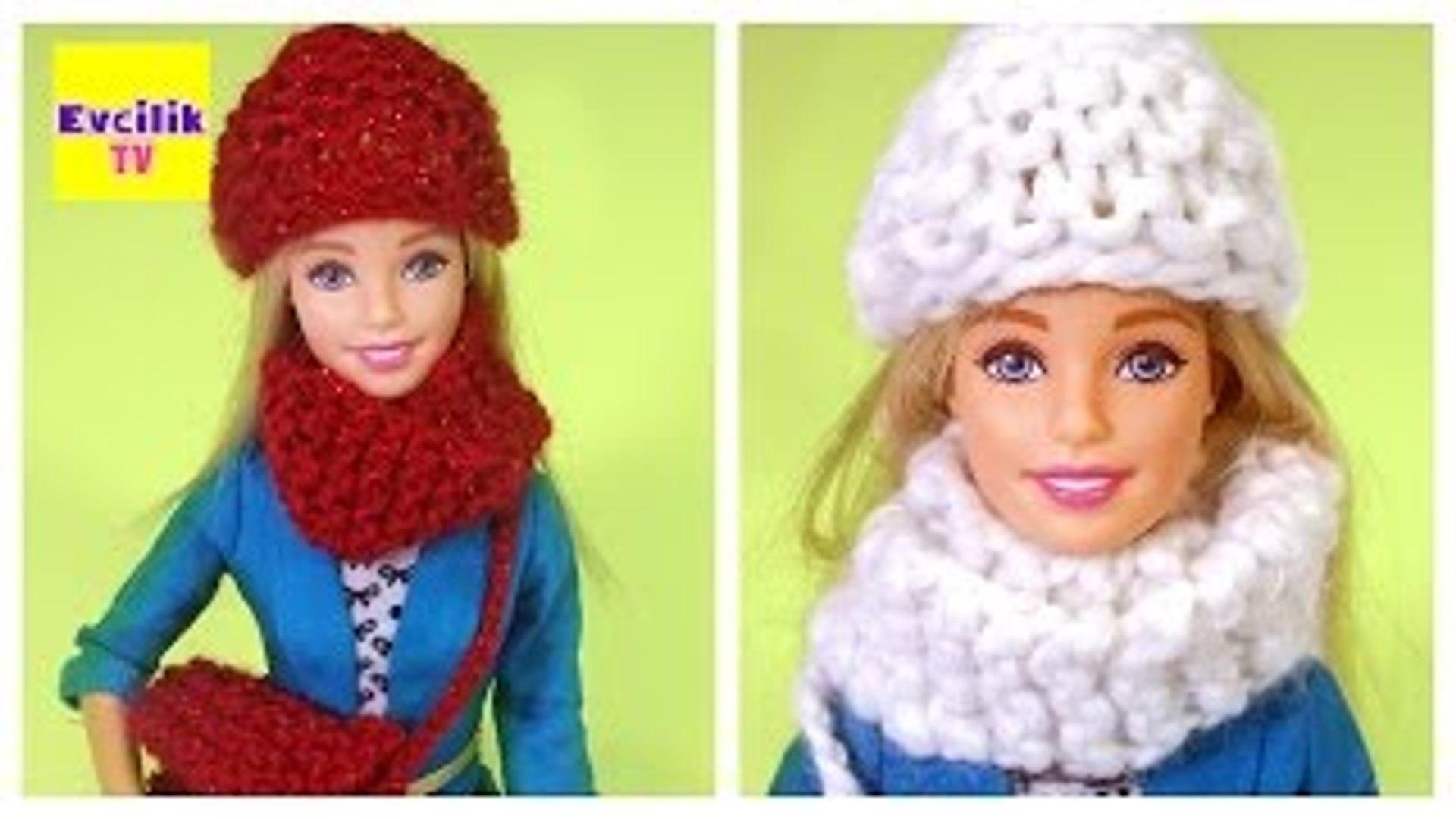 Barbie Bebekleri için Örgü Yapımı | Barbie Türkçe izle | EvcilikTV Kendin Yap Video