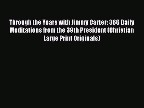 Annotated Bibliography of books by Jimmy and Rosalynn Carter