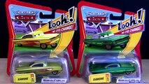 4 Disney Cars Lenticular Eyes Lightning Ramone Hydraulic Ramone Pixar car-toys