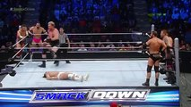 the return of Goldust to WWE  Jack Swagger, Zack Ryder & Damien Sandow vs. The Social Outcasts SmackDown, Jan 4, 2016
