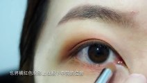 beauty tips for girls beautifull eye makeup tips for girls how to make eyes beautifull 日常咖啡橘眼妝分享