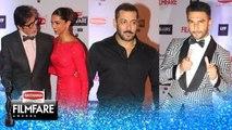 Filmfare Awards 2016 | Salman Khan, Deepika Padukone, Ranveer Singh | Red Carpet