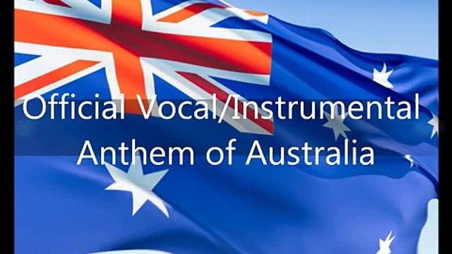 Australian National Anthem - 'Advance Australia Fair' (EN)