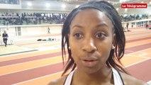 Athlétisme. Championnats de Bretagne en salle à Rennes : Pamella Narcisse championne de Bretagne du 60 m
