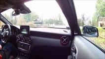 Essai Mercedes A45 AMG (caméra embarquée)