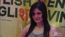 Zarine Khan in TIED Lacy Dress