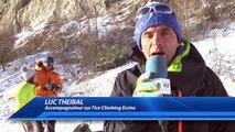D!CI TV : Les grimpeurs de l'Ice Climbing Ecrins ont fait la course ce samedi