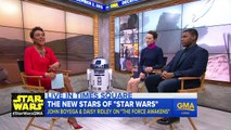 Star Wars: The Force Awakens Interview with Daisy Ridley, John Boyega