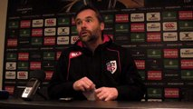 Rugby Champions Cup - Ugo Mola après Oyonnax - Stade Toulousain