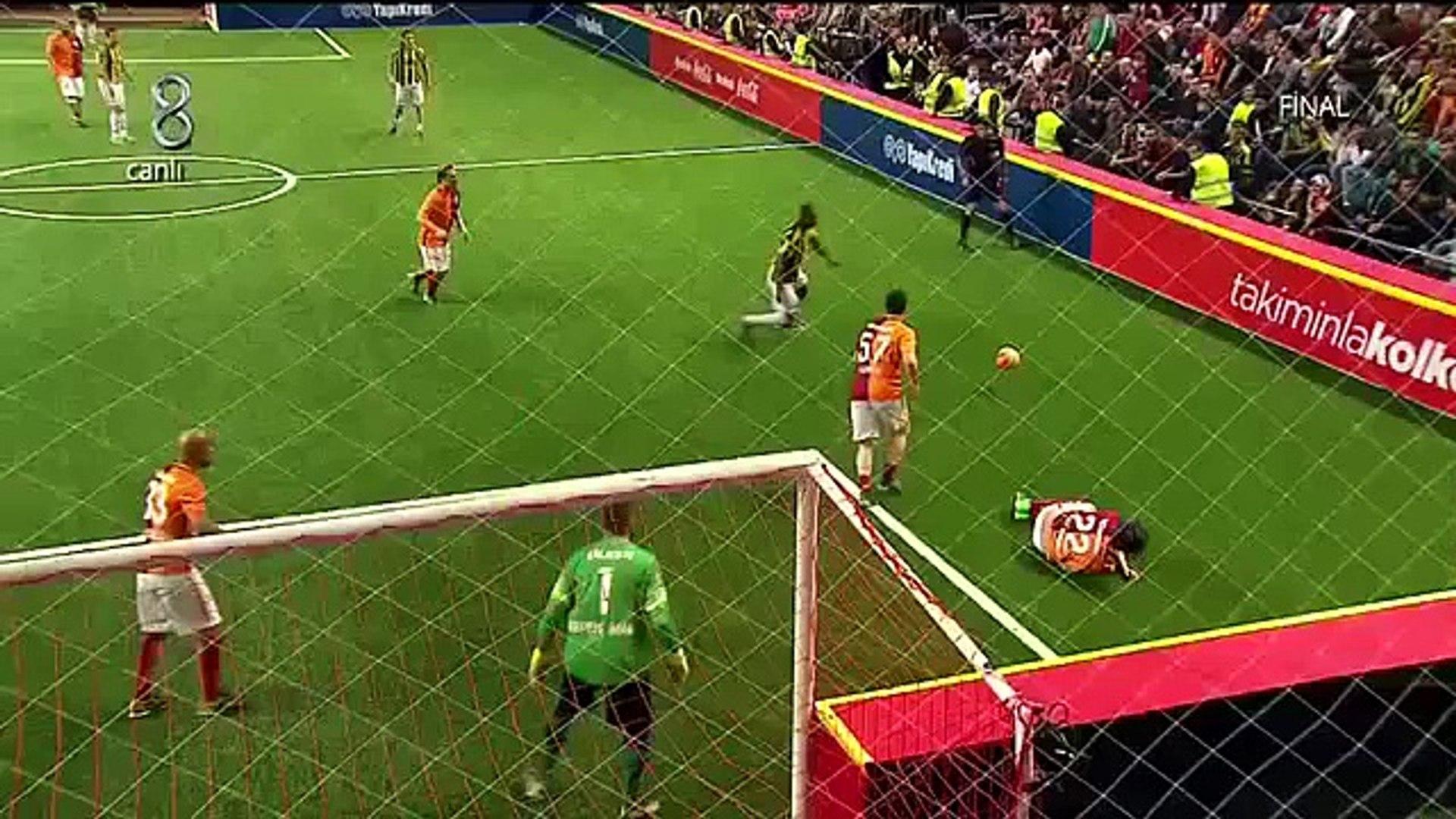 4 Büyükler Salon Turnuvası Fenerbahçe  5 Galatasaray 1 İY Özeti İzle