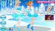Frozen Elsa and Anna Party Dress & Prom Makeover Disney Princess Games for Girls