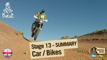 Stage 13 Summary - Car/Bike - (Villa Carlos Paz / Rosario)